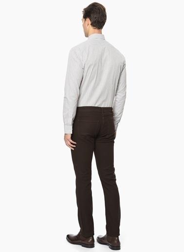 George Hogg Slim Fit Pantolon Kahve